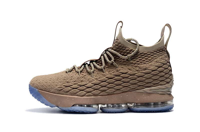 "d9ffa26c309 Nike LeBron 15 ""Ghost"" String Vachetta Tan-Sail Latest"