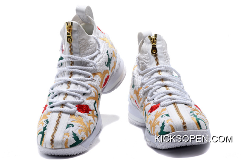 "4e81c705022 New Year Deals KITH X Nike LeBron 15 ""Floral"""