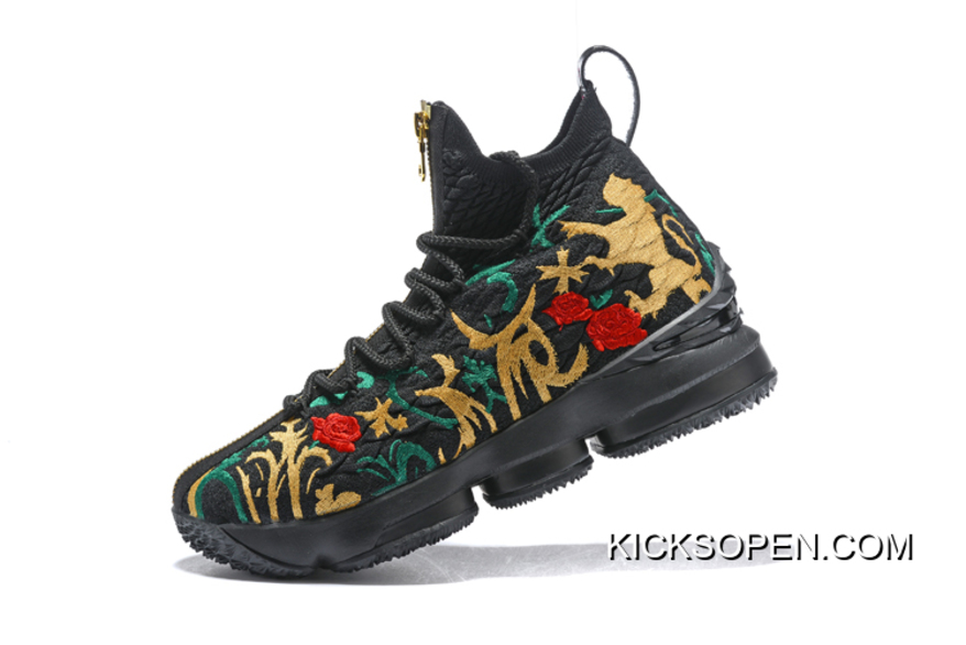"best cheap 35546 81bc0 KITH X Nike LeBron 15 ""King s Crown"" New Style"