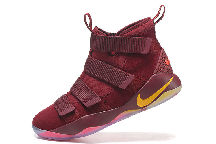"""save off 9aa4f e8ce9 Nike LeBron Soldier 11 """"Cavs"""" PE Best"""