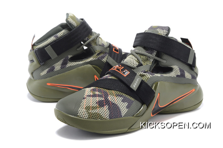 665539c9db234 Men LeBron Soldier 9 Nike Basketball Shoes SKU 185569-354 New Year Deals