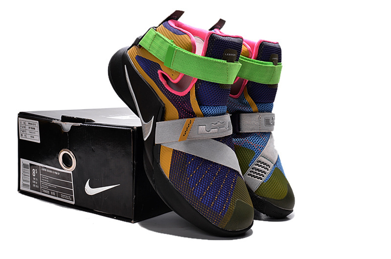 "f1c6ae6715a For Sale Nike LeBron Soldier 9 ""What The LeBron"" Multi Color Black ..."