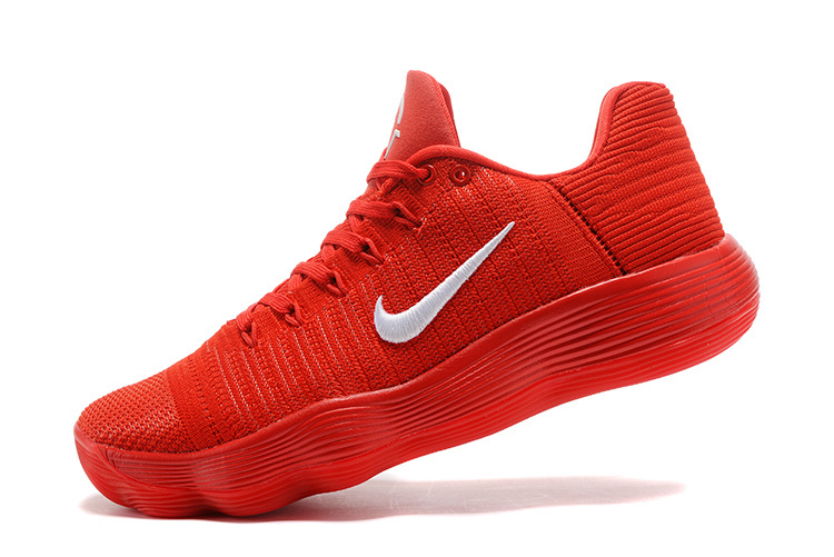 "fc7f88dafbc1 New Style Nike React Hyperdunk 2017 Low Flyknit ""University Red ..."
