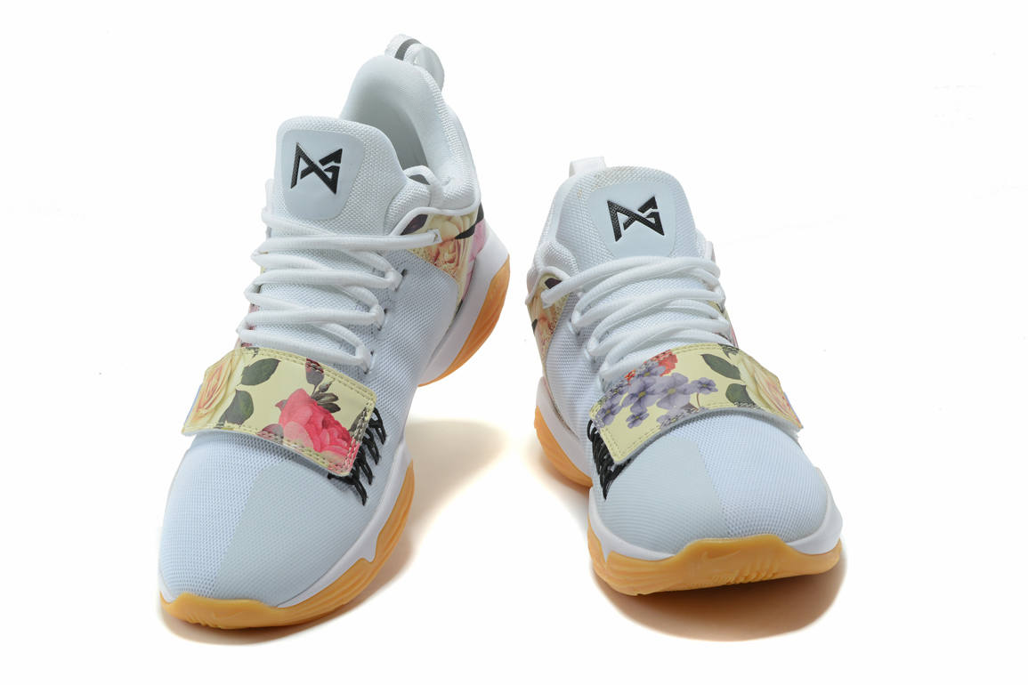 "uk availability 843a5 4c101 For Sale Nike PG 1 ""White Floral Print"""