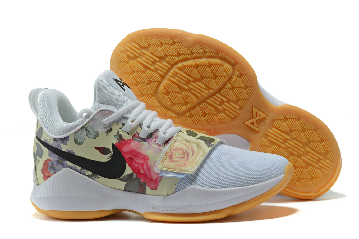 """f84e519c95d For Sale Nike PG 1 """"White Floral Print"""""""