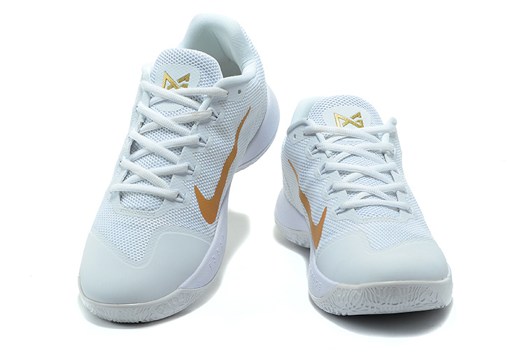 f2a2eb212d61 Nike Zoom PG 2 White Gold New Release