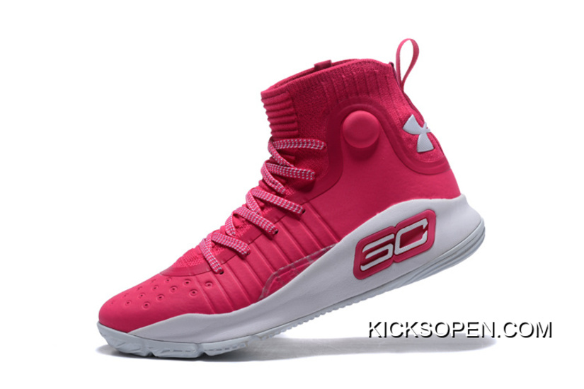 Under Armour Curry 4 Pink White