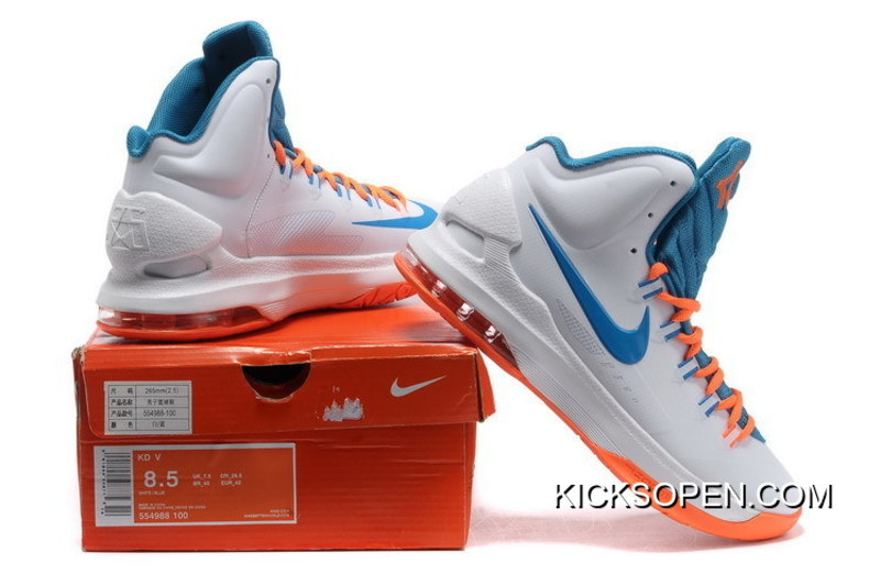86d3757ae880 Where To Buy Women Nike KD 5 Basketball Shoe SKU 190016-203